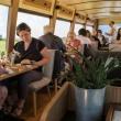 Détournement d'un bus en restaurant gastronomique